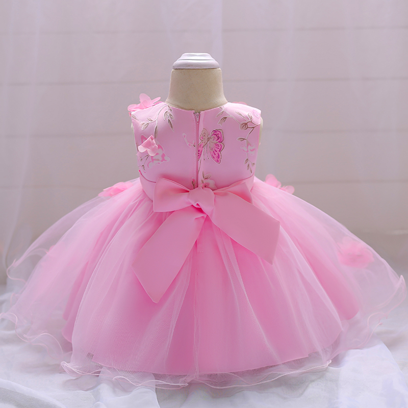 Las muchachas del bebé al por menor vestido de boda partido del bebé ...