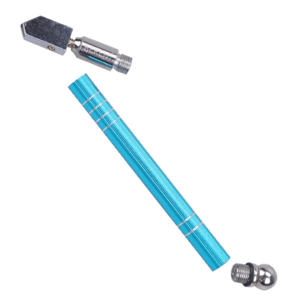 Professional Oil Filled Cutting Tile Cutter Diamond Roller Type Glass Cutter Cutting Wheel Metal Handle Hand Tools