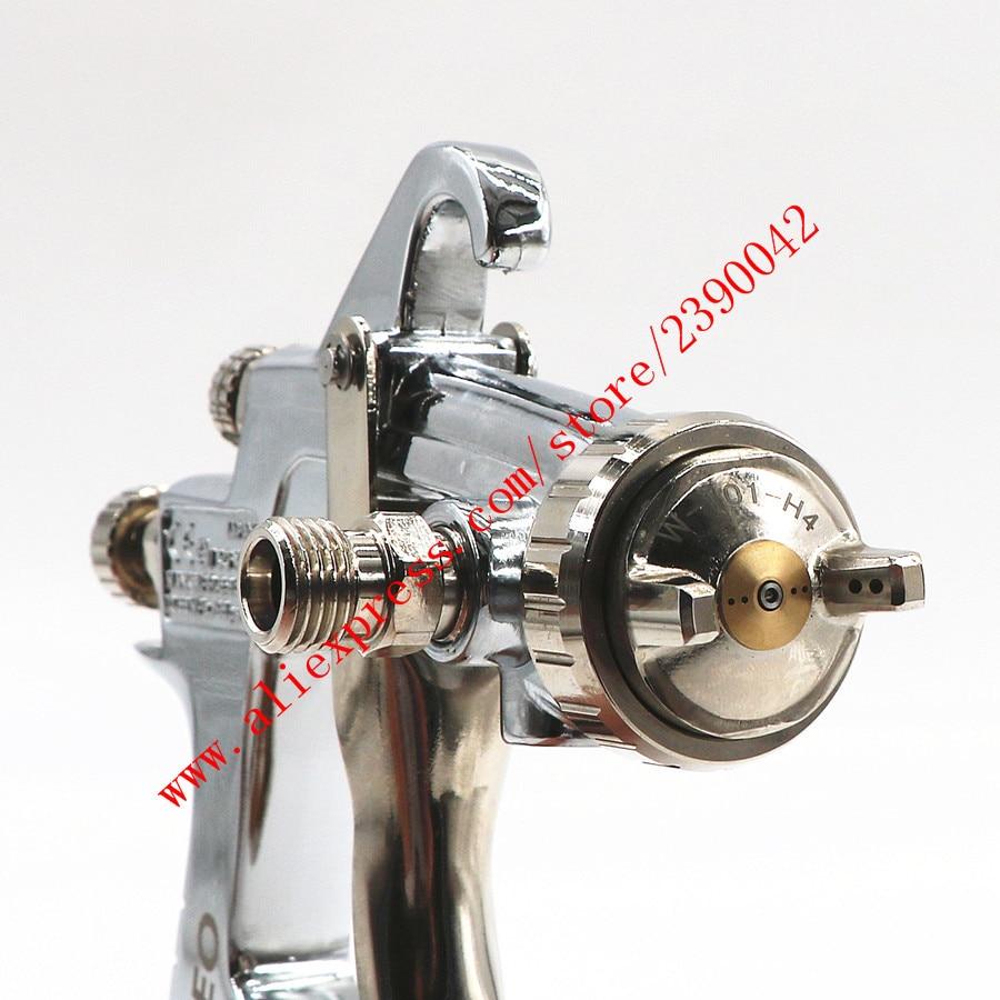 Image 5 - HVLP W101 134g пистолет распылитель W101 ручная мельница для W 101 Краски пистолет распылитель 0,8/1,0/1,3/1,5/1,8 мм мебель покрытие автомобиля Краски пистолет-in Распылители from Инструменты on AliExpress