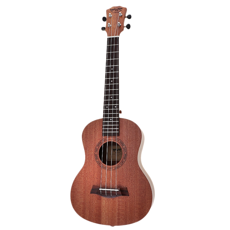 Bws Est & 1988 Concert Ukulele 23 Inch Mahogany Wood Acoustic Cutaway Guitar Ukulele Hawaii 4 String Guita For Beginner