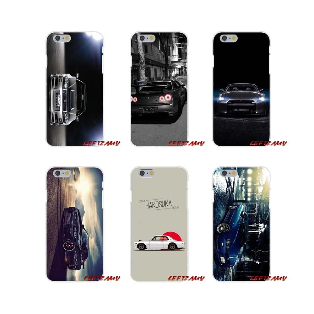 Accessories Phone Cases Covers For Huawei P Smart Mate Honor 7C P8 P9 P10 P20 Lite Pro Mini 2017 car Nissan Skyline Gtr R34