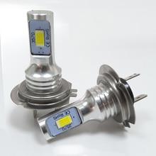 2X H7 LED Car Lights CANBUS Vehicle Headlight Fog Lamp 3000lm 6000k 72W led h7 Headlamp Signal Light 12V 24V car-styling