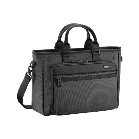 ZERO HALLIBURTON Zest Black Single Front Pocket Tote Bag zest zest 23742 3