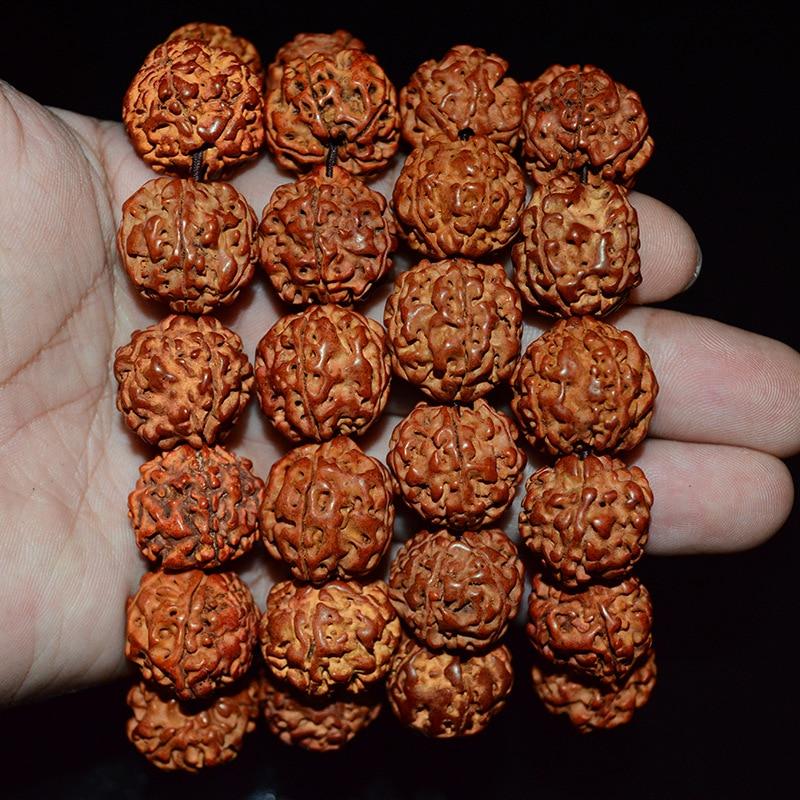 HOMOD New Beads Bracelet Nepal Bodhi Blood Bracelets Men Jewelry Pulseras