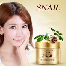 IMAGES Face Care Essence Nutrition Snail Cream Moisturizing Anti-Aging Anti Wrinkle Day Snail Face Cream