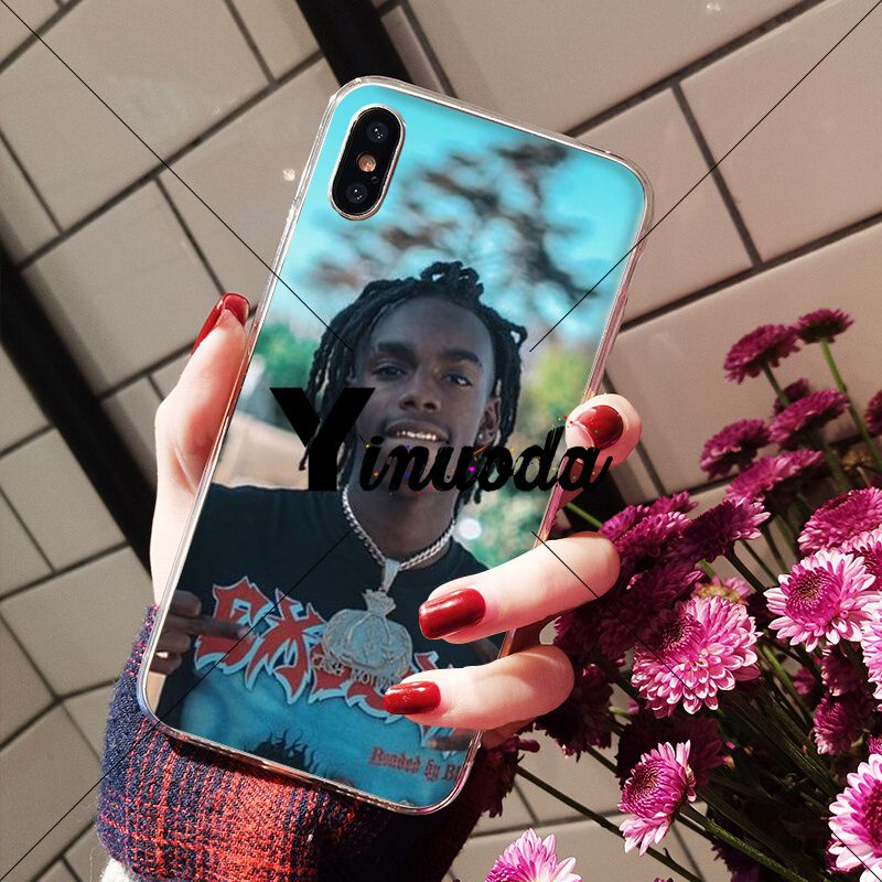 Yinuoda Ynw Melly Rapper Tpu Soft Silicone Transparent Phone Case For Iphone X Xs Max 6 6s 7 7plus 8 8plus 5 5s Se Xr