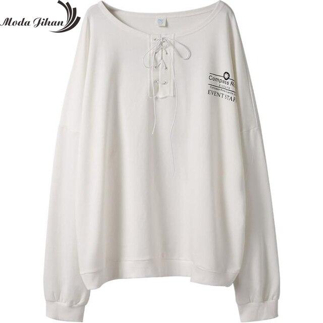 Moda Jihan Women ulzzang Japanese Harajuku Hoodies Street Fashion Woman Long Sleeve Hoodies Oversize Pullover Sweatshirt Print 4