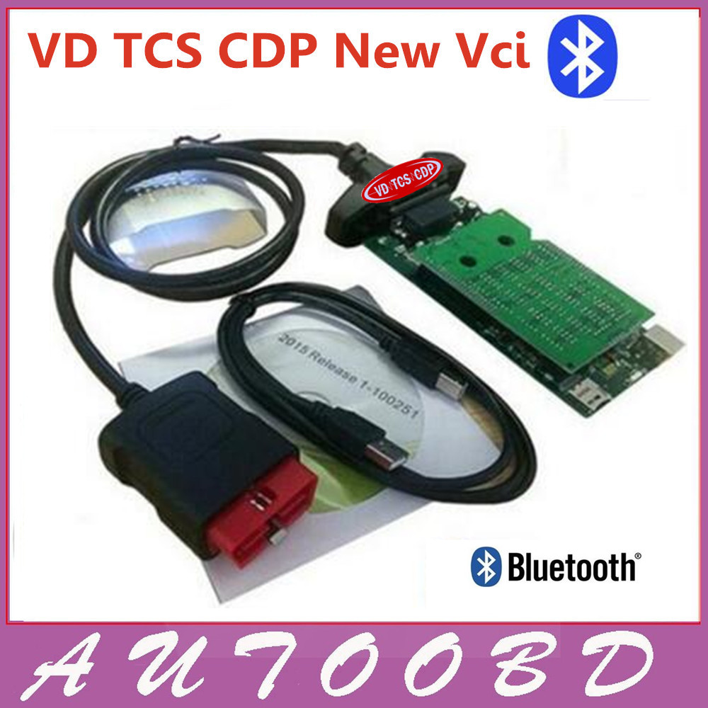 Gray nec relay VD TCS CDP New Vci Software 2015.R3 with Keygen Activator License Green Board V8.0 CDP Bluetooth for Cars trucks