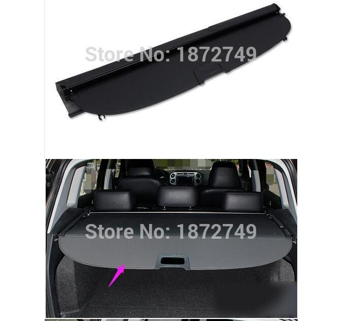 Trunk Cargo Cover Security Shield Shade Black 2010-2015 For VW Volkswagen Tiguan car rear trunk security shield shade cargo cover for volkswagen vw touran 2016 2017 2018 black beige