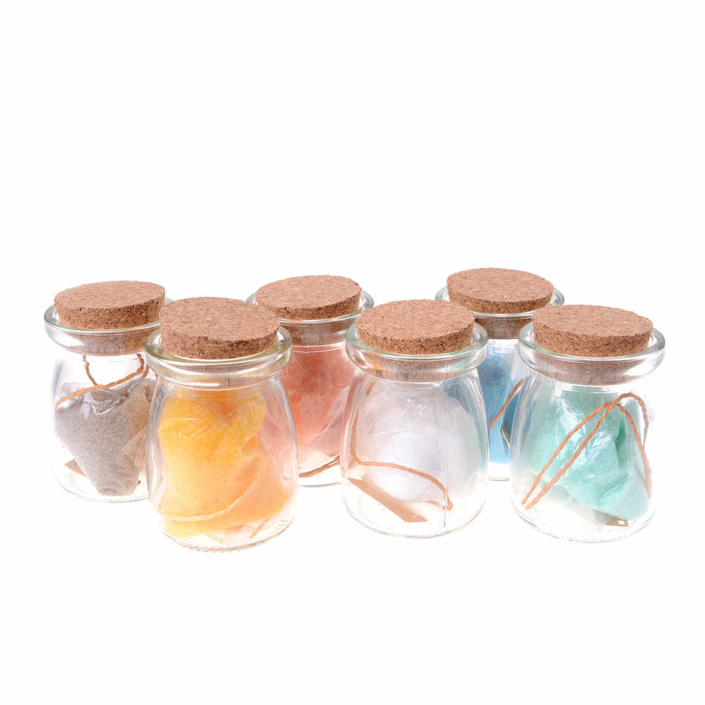 Crystal Growing Kit Children Science Lab Educational Learning Toy Multi-colors Crystal Sand With Bottle Wishing Hope