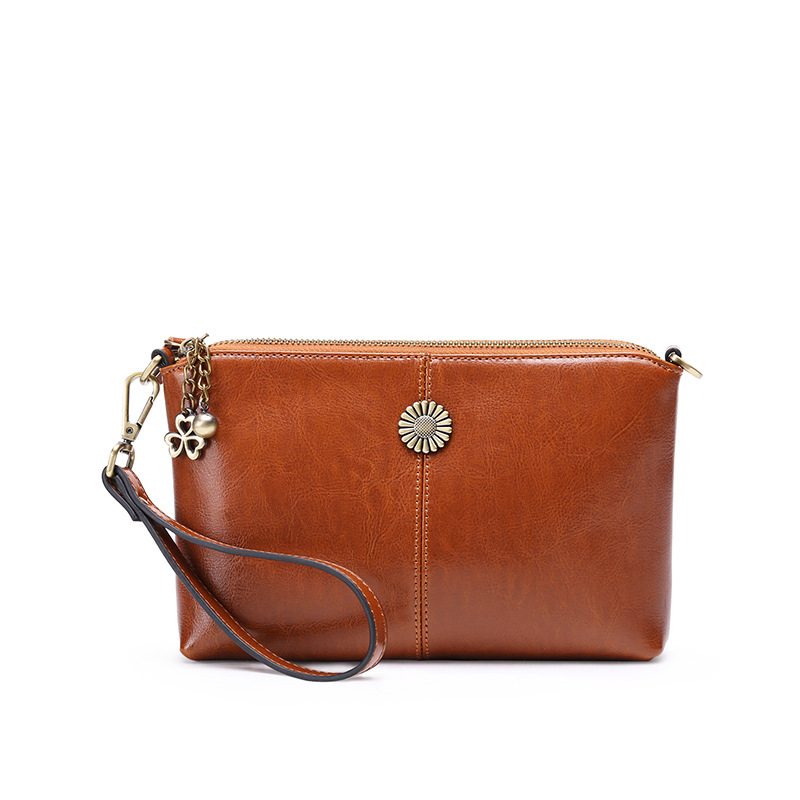 100% Cowhide Genuine Leather Women Messenger Bags Crossbody Bag Female Fashion Shoulder Bags for women Clutch Small Handbags mzorange women genuine leather handbags 2018 small brand arrow shell bags purse cowhide fashion mini shoulder bag crossbody bags