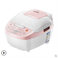 Rice Cooker 4L Household Large Capacity Multi function Intelligent Rice Cooker Reservation 3 4 5 Person Rice Cooker Automatic
