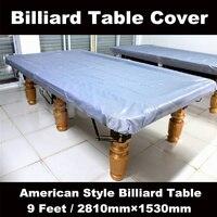 Livraison gratuite; Billard tables couverture; Taille 2810mm1530mm9FT