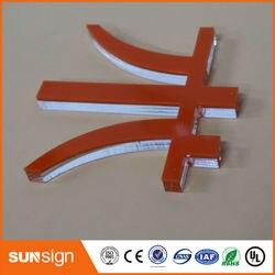 Sunsign super calidad DIY acrílico señal claro acrílico letras tablero