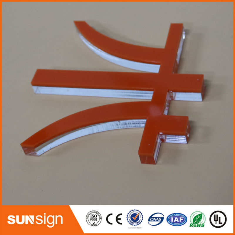 Sunsign Super Quality DIY Acrylic Sign Clear Acrylic Letters Board
