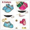 6 Cores Bebé Squeaky Sandals Sons Sapatos Sola Criança Sandálias Da Menina Das Crianças Vestido de Verão Frete Grátis