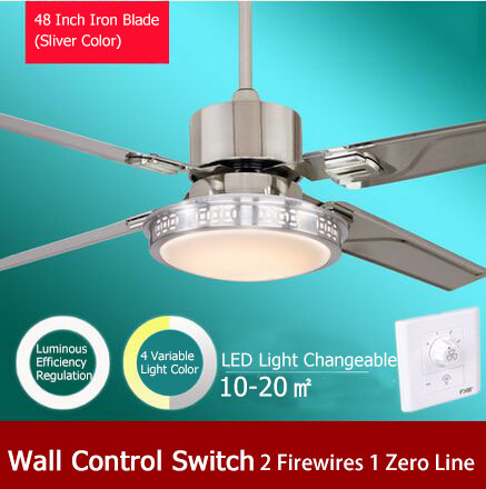 48 inch led ceiling fan light with wall control switch luminous 48 inch led ceiling fan light with wall control switch luminous efficiency regulation and 4 mozeypictures Image collections