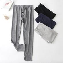 New pijama hombre 2020 modal cotton sleepwear men pajama pants lounge