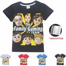 2018 summer FGTeeV The Family Gaming Team Kids' T-Shirts for boys girls tops tees Youth Fgtv teens siwa roblox clothes