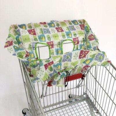 2 в 1 детская корзина гамак тележка для обеденного стула защиты антибактериальные безопасности дорожная подкладка Защитная крышка для детей - Цвет: 10