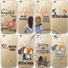 Greys Anatomy You are my person transparent Soft TPU silicone Phone Cases Cover For Huawei Ascend P8 P9 P10 P20Lite P10 P20Plus greys anatomy you are my person transparent soft tpu silicone phone cases cover for huawei ascend p8 p9 p10 p20lite p10 p20plus