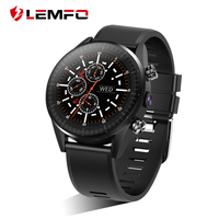 LEMFO KC05 2019 New 4G Smart Watch Men Android 7.1.1 Quad Core GPS 5MP Camera 610Mah Battery Replacement Strap Waterproof Watch