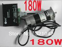 Leadshine 180W Brushless DC Servo Motor+Drive Kit BLM57180 1000+ACS606+Cable 6.7A 36VDC 0.57NM 3000RPM Pulse Control