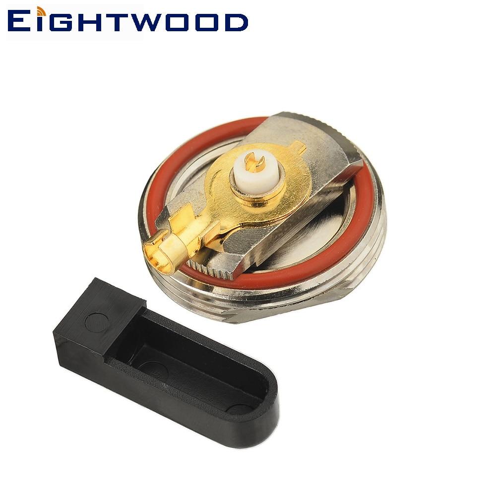 Eightwood cb Radio Antenna NMO Mount Connector Crimp/Solder Attachment for RG58 RG55 RG141 RG142 RG223 RG400 RG303 LMR-195