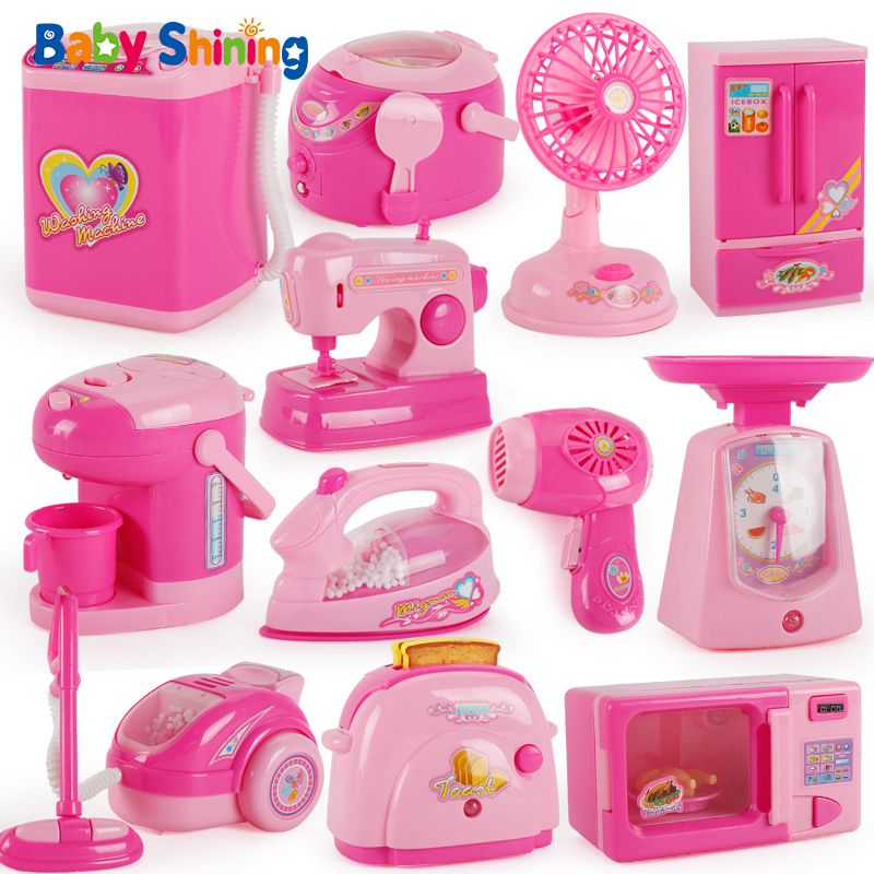 Baby Shining 6/12pcs <font><b>Dollhouse</b></font> <font><b>Miniatures</b></font> 1:12 Kids Thumbnails <font><b>Furniture</b></font> <font><b>Kitchen</b></font> Set Girl Toys Makeup Pretend Play Accessories image
