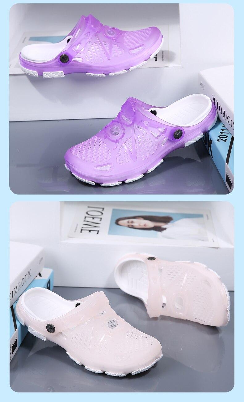 HTB1mcVqQHvpK1RjSZPiq6zmwXXaX Women Sandals Summer Slippers 2019 New Women Outdoor Beach Casual Shoes Cheap Female Sandals Water Shoes Sandalia women