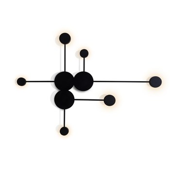 Modern Creative LED Wall Lamp Iron Decoration Wall Lights For Living Room Bedroom Bedside Acrylic Wall lamps lighting fixture