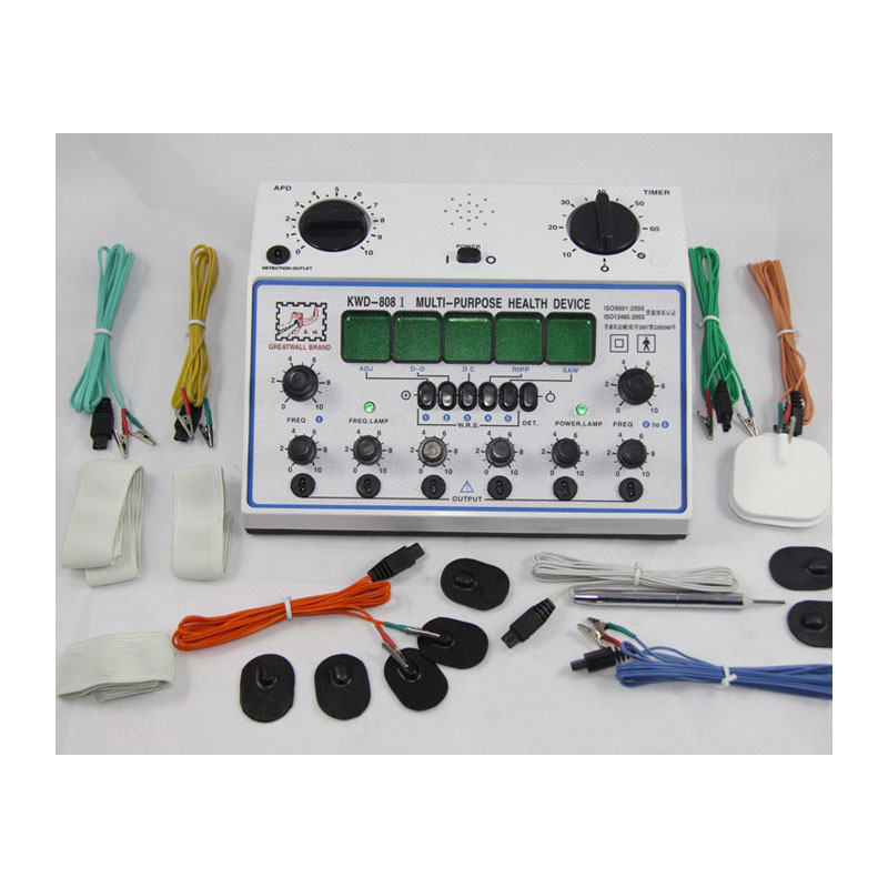 Pulse electrotherapy acupuncture stimulator machine Set Great Wall brand KVVD808-I pulse i o card cqm1h plb21