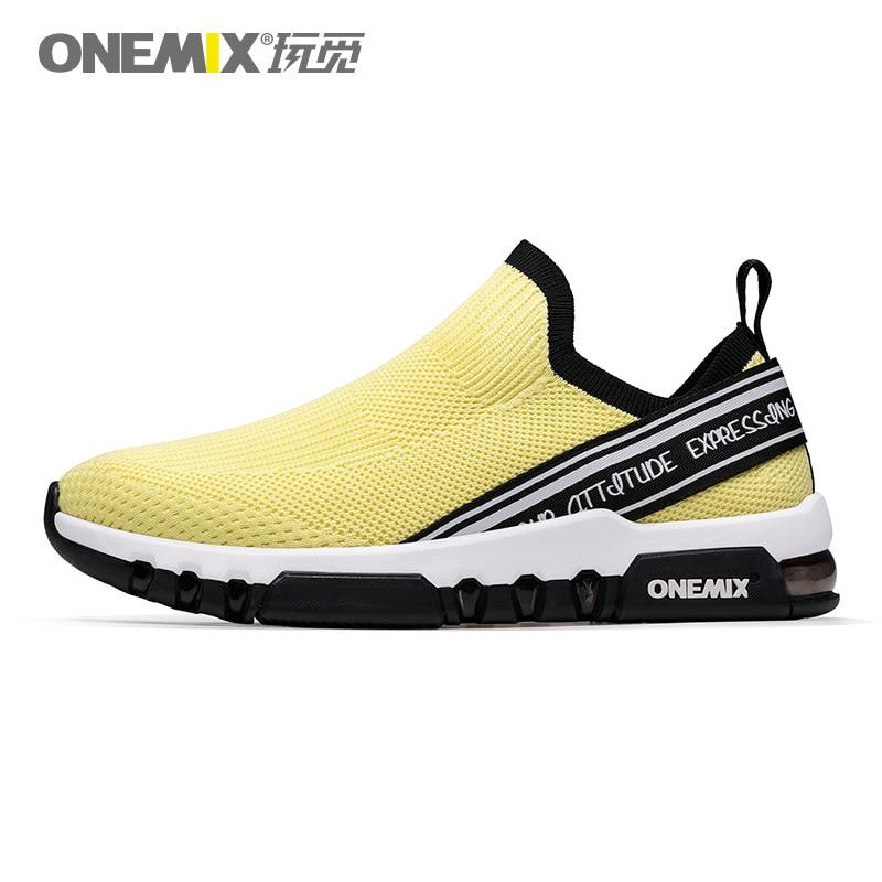 купить ONEMIX Men Lightweight Sneakers Running Shoes For Women Jogging Outdoor Gym Fitness Sport Shoes по цене 3739.18 рублей