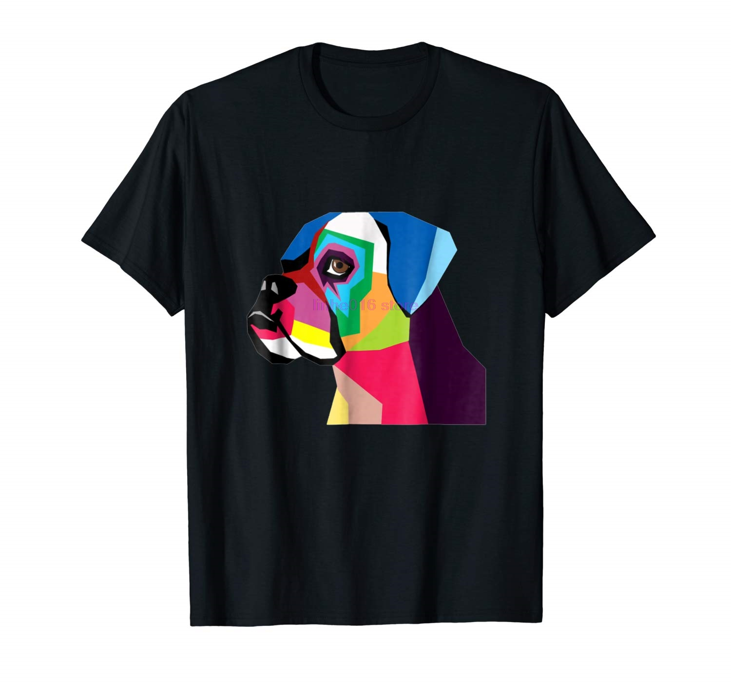 GILDAN brand men shirt Boxer Dog T Shirt For Men Women