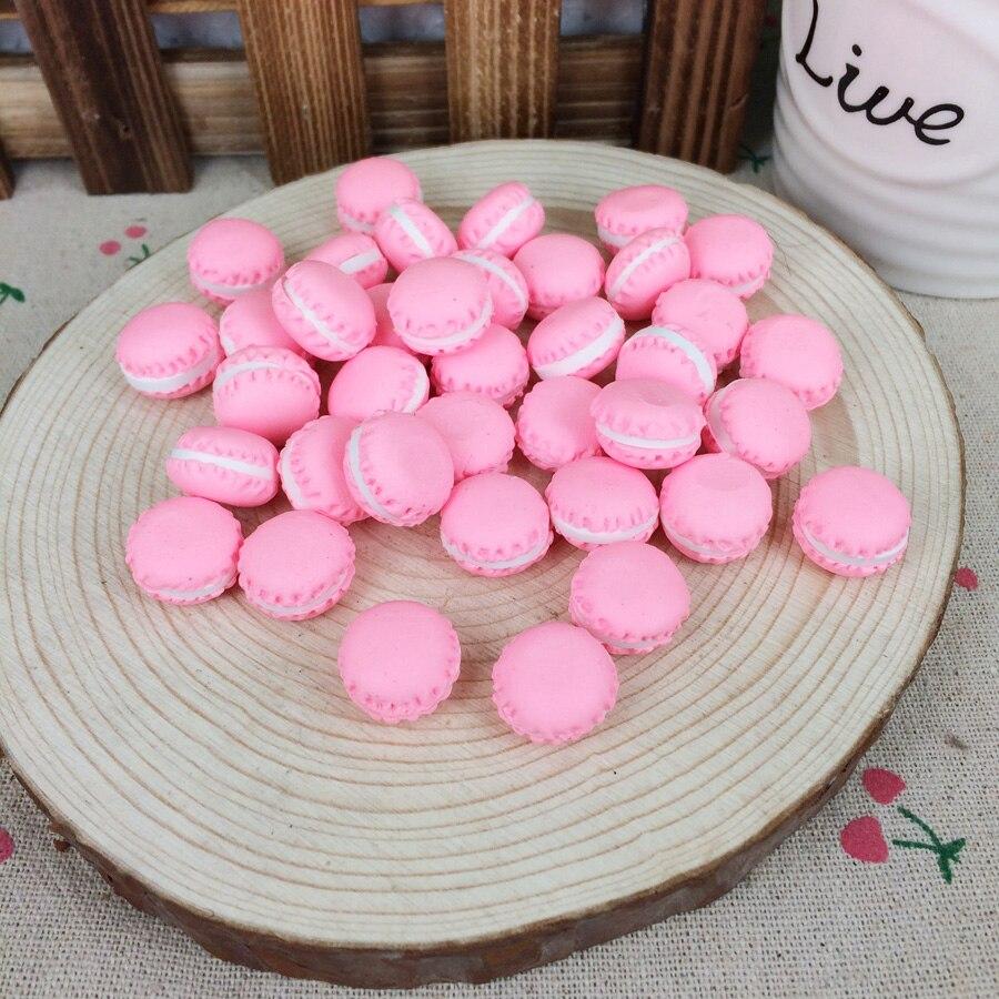 Kawaii Flatback DIY Clay Red Miniature Artificial Food Cake Cabochons Flat Back Scrapbooking Embellishment Decoration:15mm
