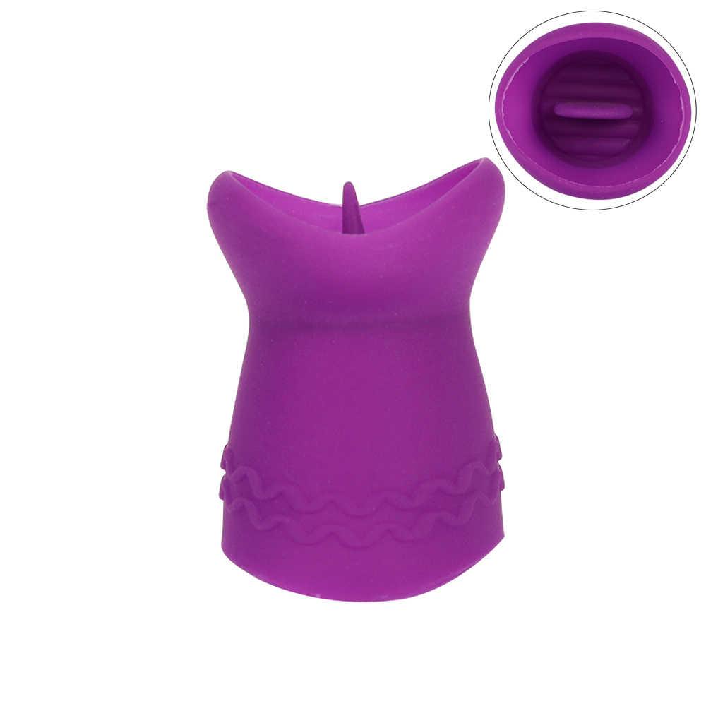 Vibradores de lengua USB Power Jump vibradores con forma de huevo vibrador de punto G masajeador de lamer Oral estimulador de clítoris para mujeres juguetes sexuales