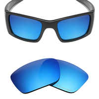 Mryok+ POLARIZED Resist SeaWater Replacement Lenses for Oakley Fuel Cell Sunglasses Ice Blue