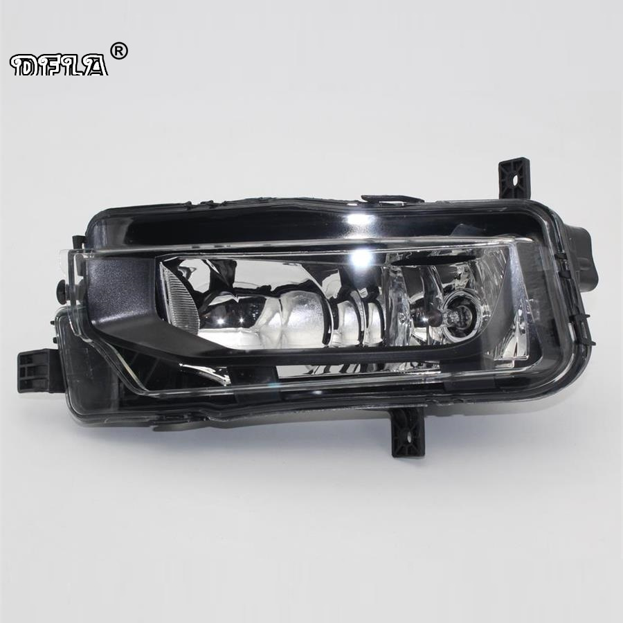 Left Side Car Light For VW T6 Transporter Multivan 2016 2017 2018 Car-Styling Fog Lamp Fog Light E-Mark Certificated E24 free shipping for vw touareg 2015 2016 new led car fog light fog lamp right side passenger side