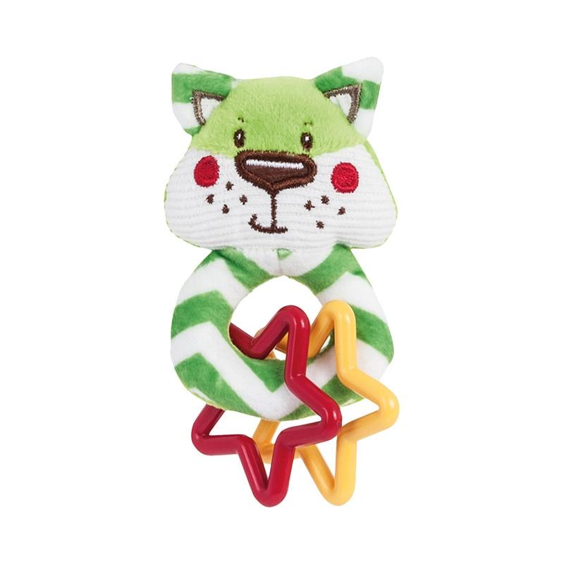 "Мягкая игрушка-погремушка Canpol ""Forest Friends"", форма: лисенок"