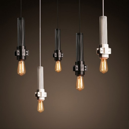Nordic Loft Style Iron Droplight Edison Industrial Vintage Pendant Light Fixtures For Dining Room Bar Hanging Lamp Lamparas simple bar restaurant droplight loft retro pendant lamp industrial wind vintage iron hanging lamps for dining room