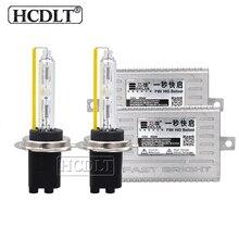 Hcdlt 55 W 5500 K D2H ксенон комплект ксеноновых фар автомобиля 12 V свет устройство быстрого запуска 55 Вт Ксеон H1 H3 H11 HB3 HB4 9012 H7 hid набор ламп