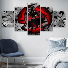 Home Decor Wall Art Canvas Naruto Animation Painting Character Print Posters Modular Picture Cuadros For Kidsroom Frame Artwork(China)