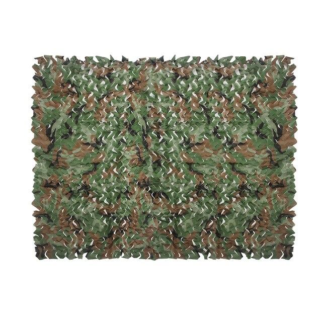 Camouflage Netten 7 Kleur Zon Onderdak Tarp Tent 2 m X 1.5 m Forest Mesh Netto Jacht Camping Militaire Tranning oefening Jungle Onderdak