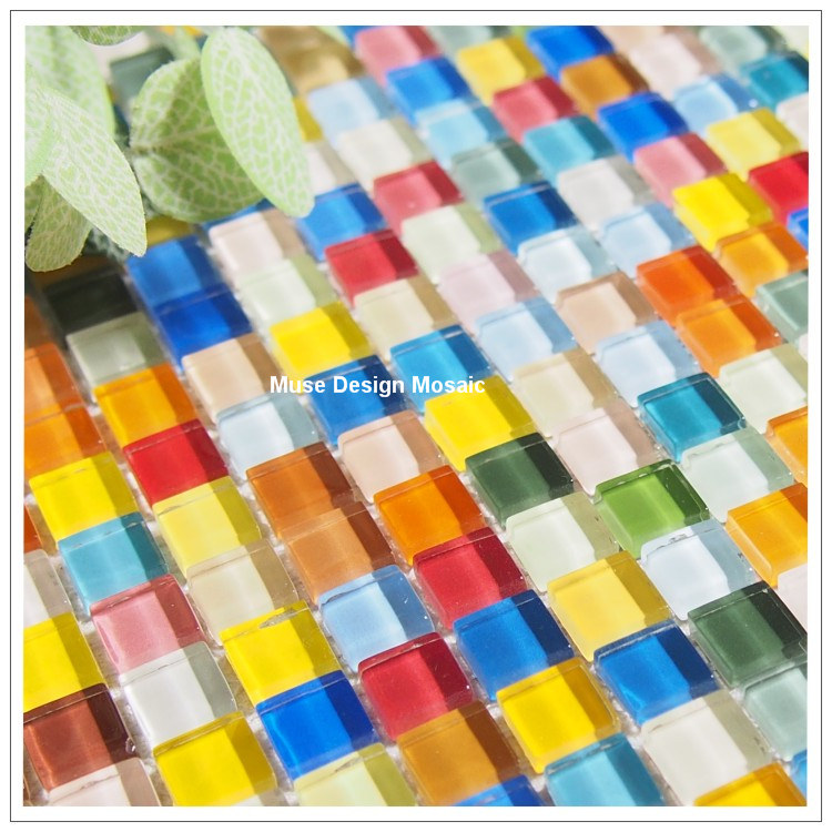 Compare Prices On Mosaic Tile Colorful Rainbow Online Ping