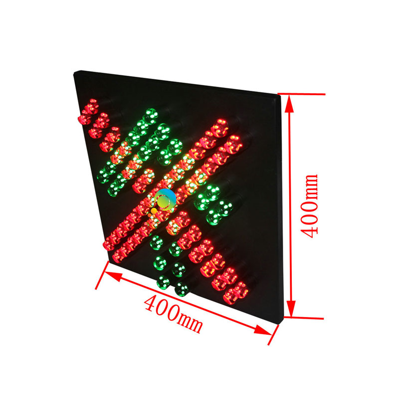Back To Search Resultssecurity & Protection Traffic Light Double Side 600mm Led Traffic Light Toll Station High Way Traffic Signal Light Red Crossing And Green Arrow Signals