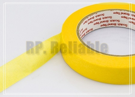 10x 20mm*50M 3M244 Yellow Masking Tape for PCB Auto Car High Temperature Painting Coating цена и фото