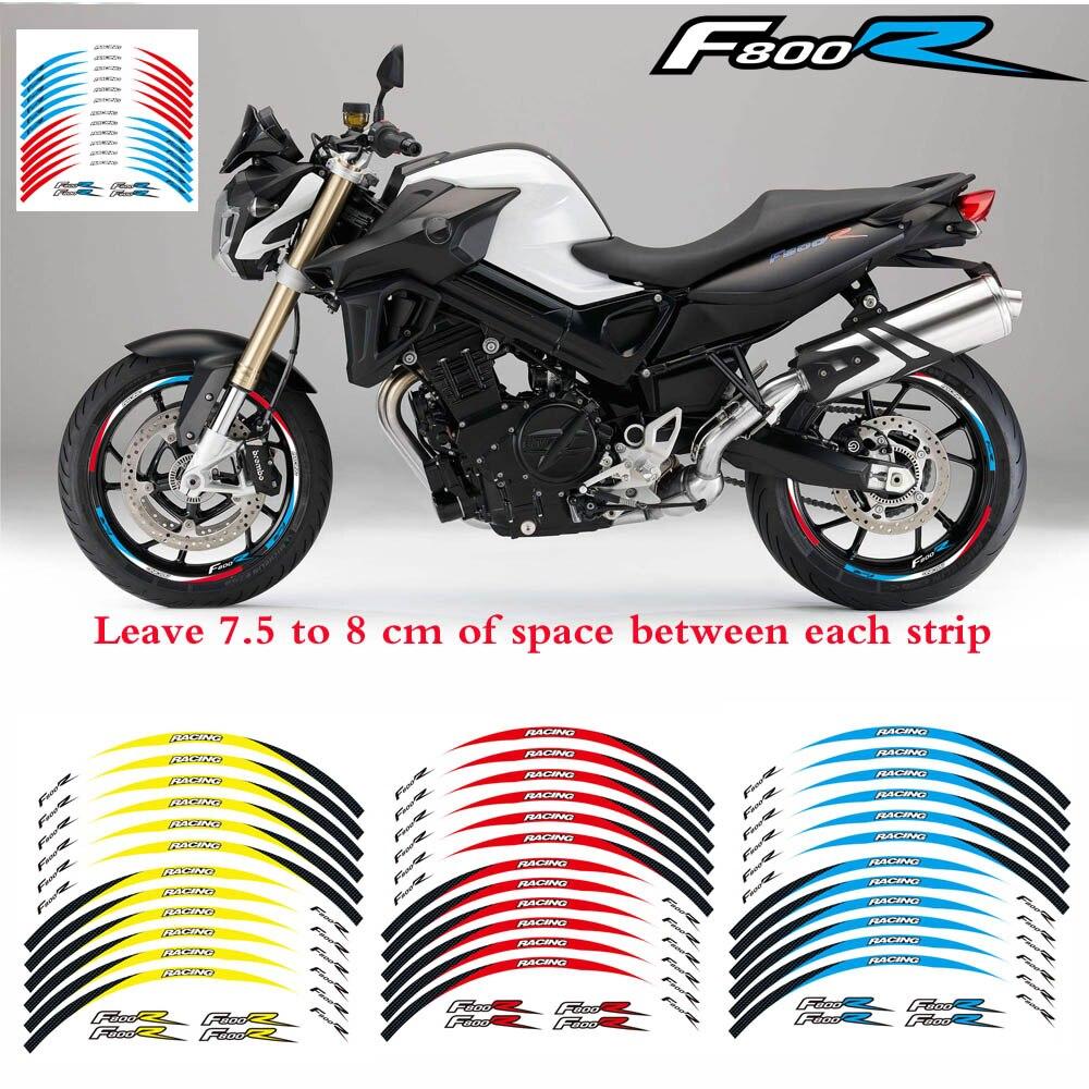 2018 New Sticker For Bmw F800r Motorcycle 17 Custom Rim Stripes