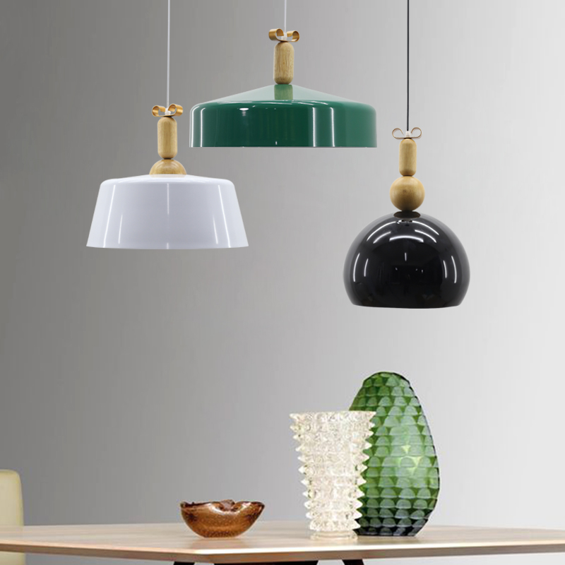 Modern Nordic  Aluminum pendant lights hanging lighting dining room Lamp shades decorate bed room lighting AC110V/220V E27 free shipping modern dining table designs discount lamp shades