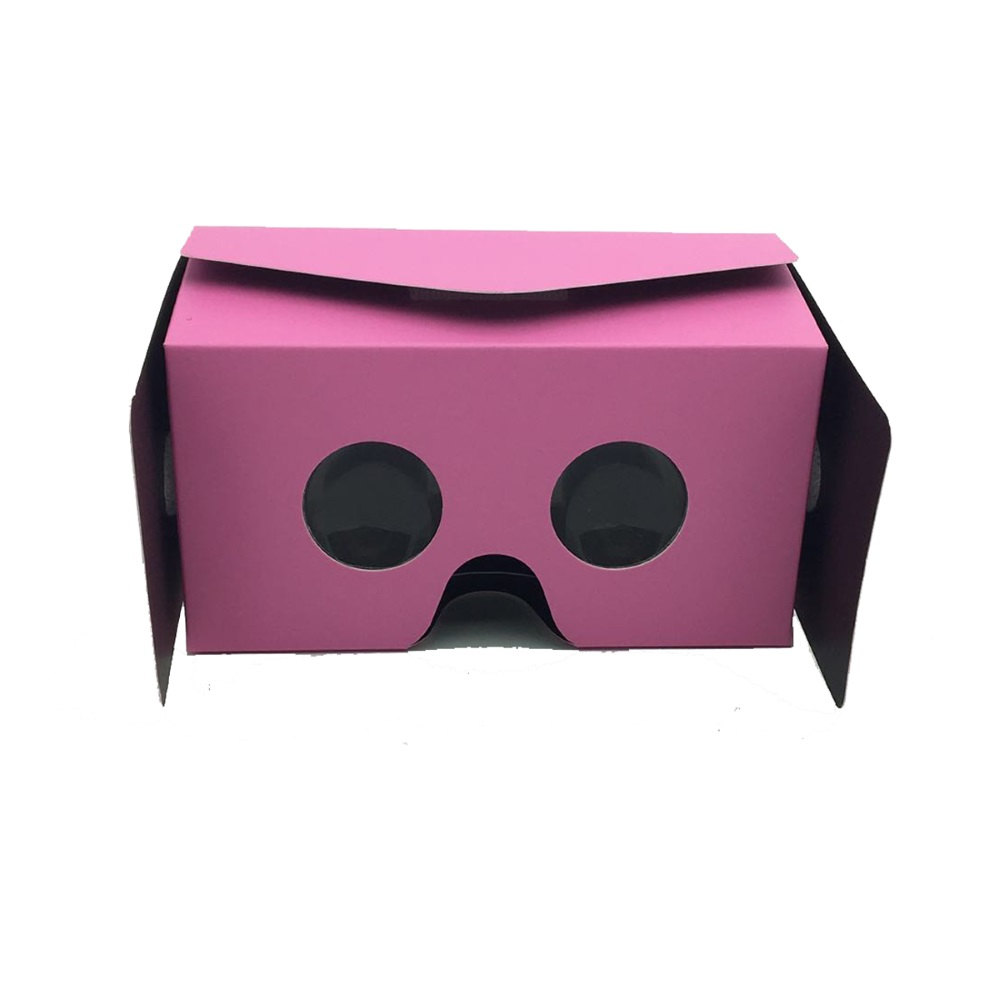 High Quality ZV18 DIY Google Cardboard 3D Box Vr Virtual Reality Glasses Case For 4 0