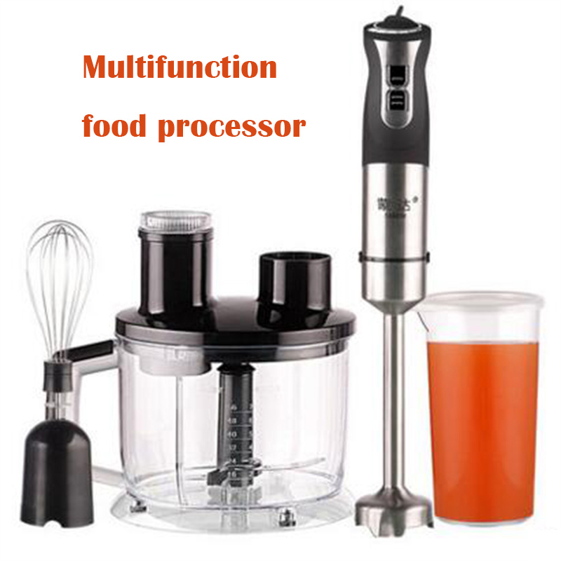 Multifunction food processor electric blender Stainless steel meat grinder fruit milk shake cooking mixer bpa free 3hp 2200w heavy duty commercial blender mixer juicer high power food processor ice smoothie bar fruit electric blender